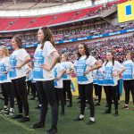 A big day at Wembley Stadium for the CSIA Dancers