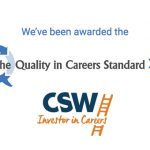 We have been awarded the The Quality in Careers Standard – Stage 1