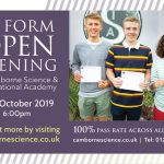 The VI Form Academy Open Evening