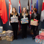 Camborne Students Spread Christmas Cheer With  Food Bank Donations